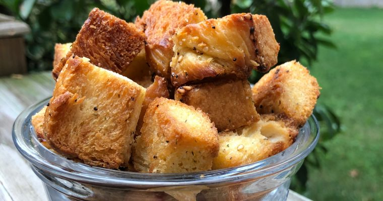 Reduce Food Waste Croutons